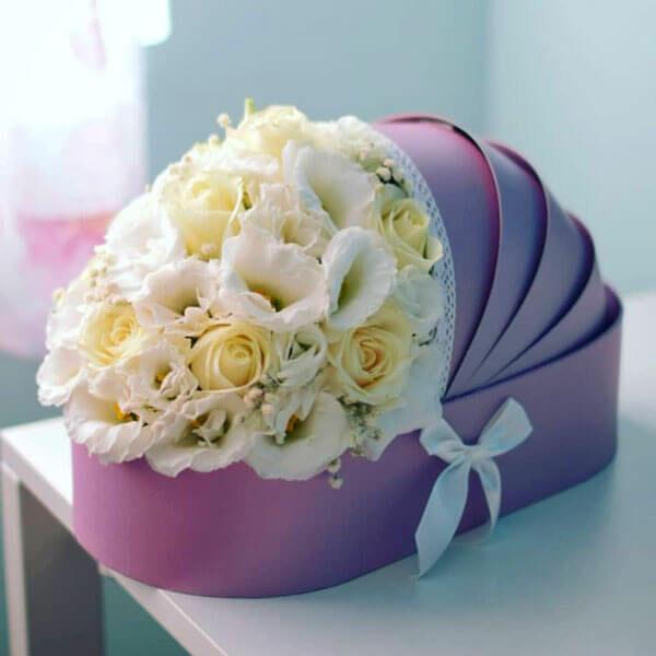 باکس گل نوزاد آرام