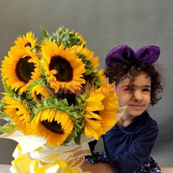 دسته-گل-آفتابگردان-بزرگ