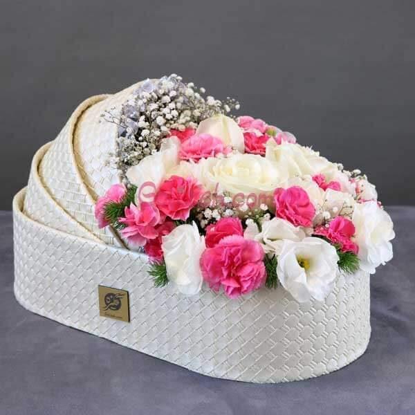 باکس گل گهوارهای غزل