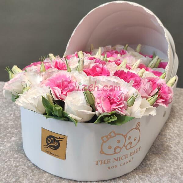 گل نوزاد آسو برای زایمان دختر
